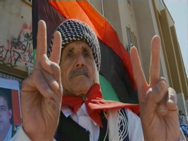 Benghazi Rising - Peace sign(1)