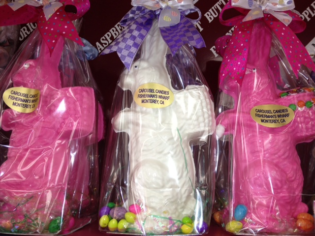 Carousel Candies  strawberry and white chocolate bunnies (2)x