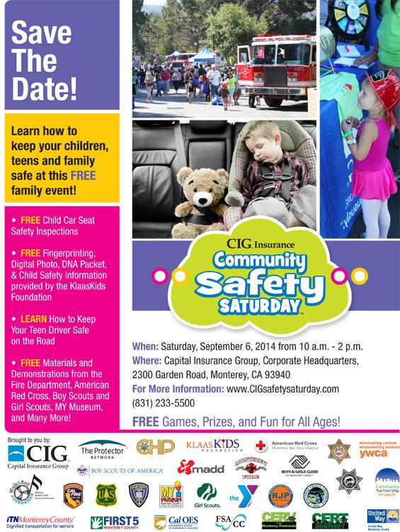 Community Safety Saturday Monterey 2014 jpg