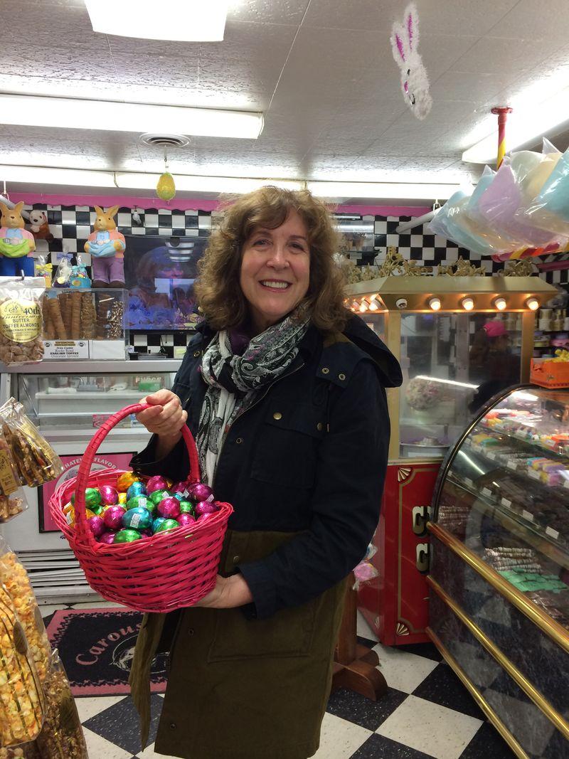 June Sobel and her Easter Basketxxx (2)