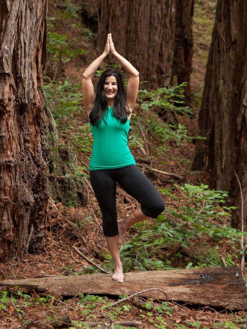Plant A Tree Pose Annette Cain cropped