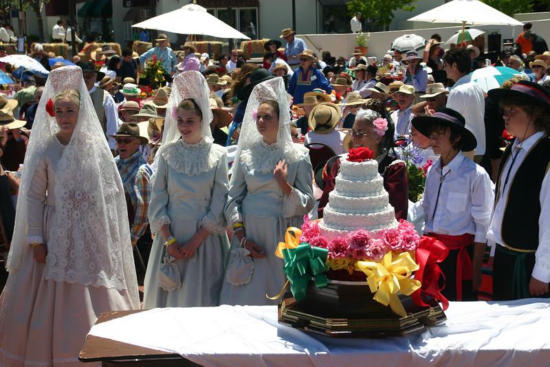 La Merienda event and famous cake (2)