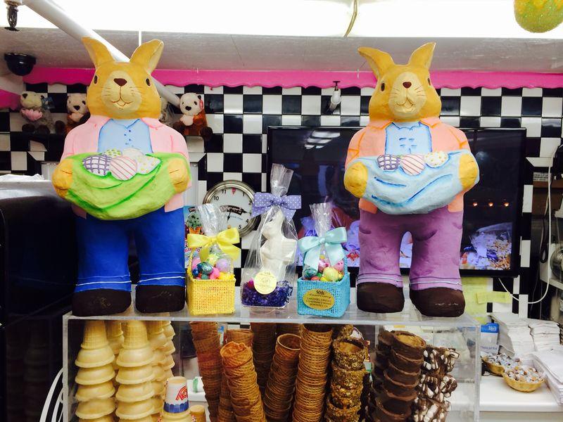 Giant bunny yellow