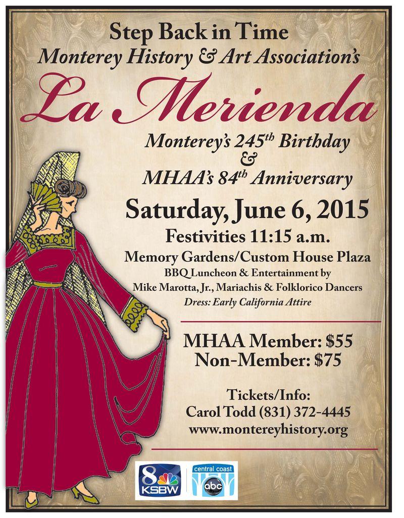La Merienda Poster 2015 April updates jpg