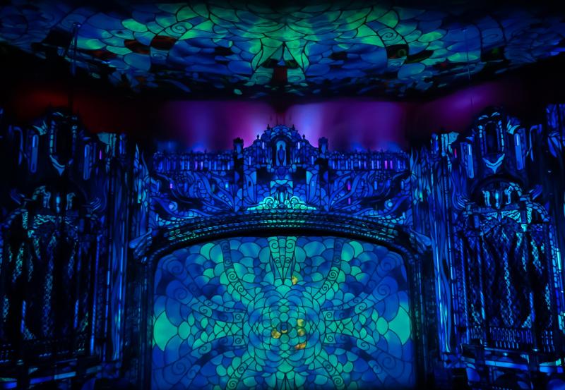 Selfieville Light Show 2