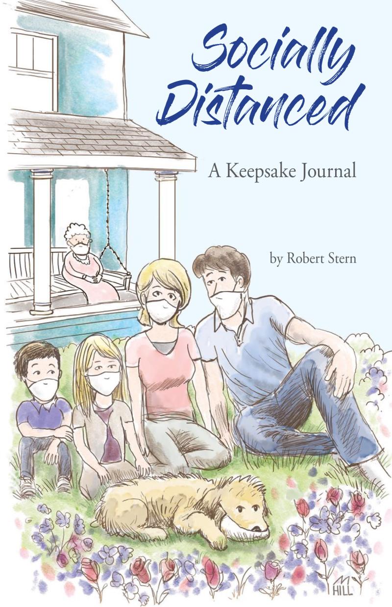 Socially Distanced A Keepsake Journal book cover